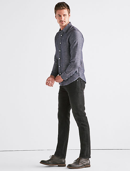 Lucky Ballona Linen One Pocket Shirt