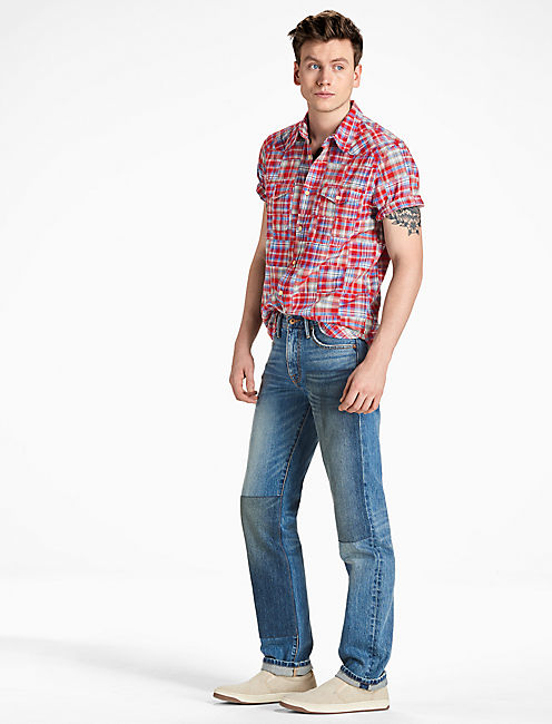 Lucky Patchwork Western Shirt