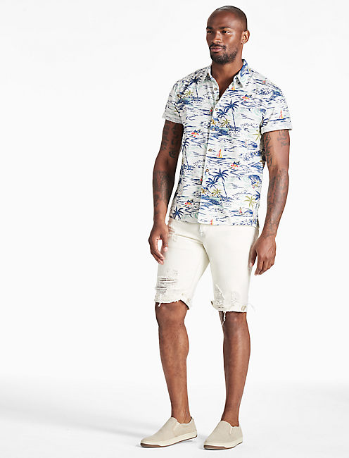 Lucky Surfbreak Aloha Shirt