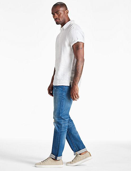 Lucky Linen Polo Shirt