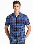 Saturday Stretch Poplin Western Shirt, BLUE MULTI