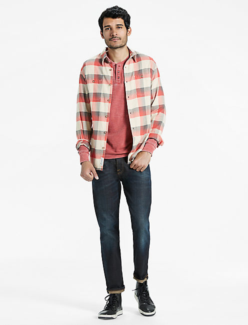 Lucky Saturday Stretch Heritage Plaid