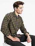 Saturday Stretch Heritage Plaid Shirt,