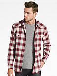 Saturday Stretch Western Flannel Shirt,