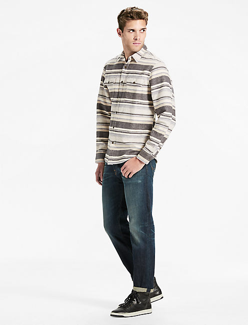 Lucky Pendleton Workwear  Aztec Stripe Shirt