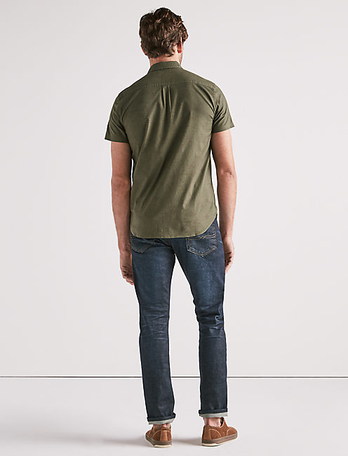 WEEKEND EXPLORER ONE POCKET SHIRT, IVY GREEN
