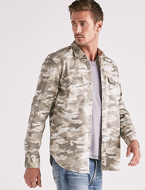 CAMO WORKWEAR WESTERN SHIRT,