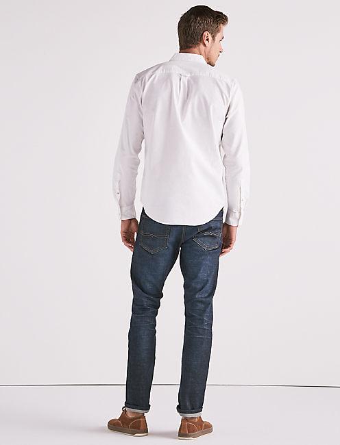Stretch Oxford One Pocket Shirt, BRIGHT WHITE