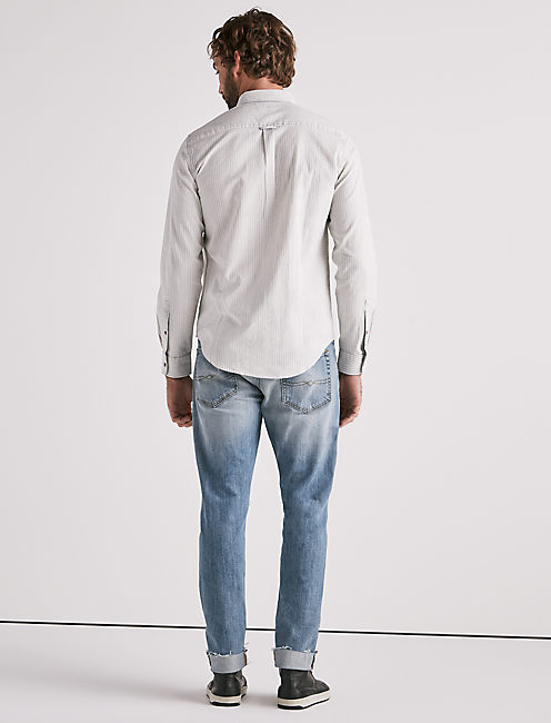 Heritage Indigo Stripe Shirt,