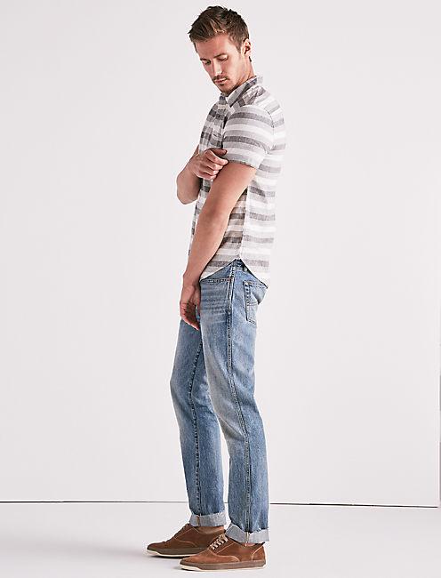 Laguna Linen Stripe Shirt,