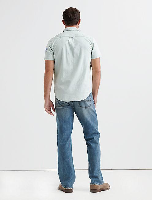 Chambray One Pocket Shirt,