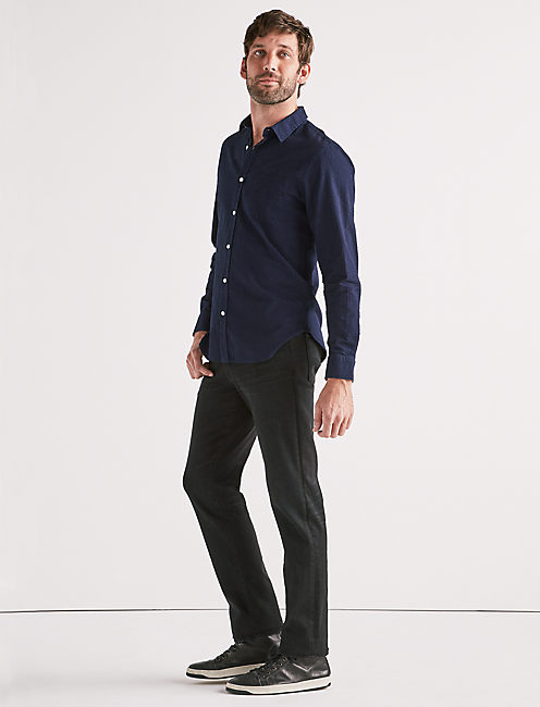 Lucky Indigo Seersucker One Pocket Shirt
