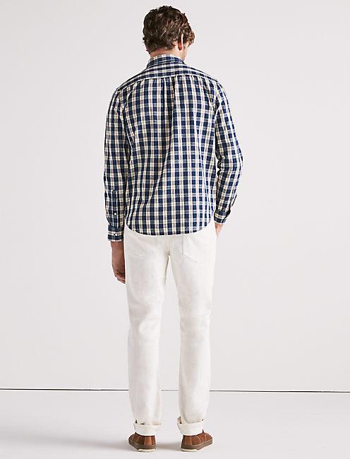Indigo Check One Pocket Shirt,
