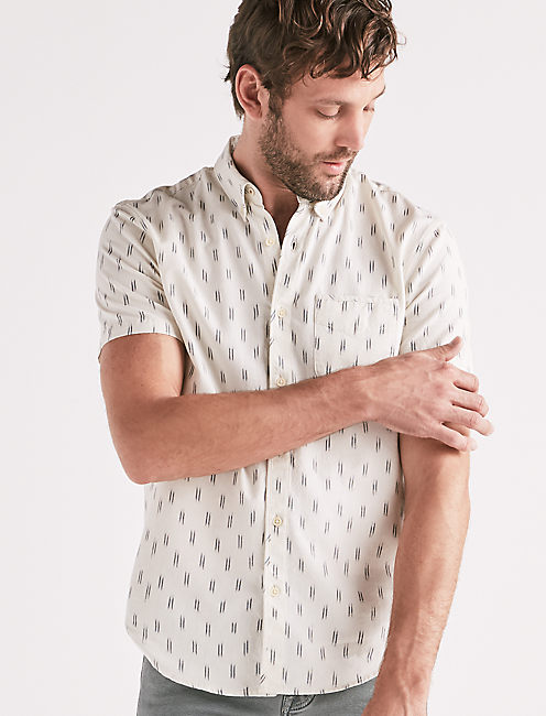 Tally Print One Pocket Shirt,