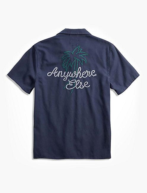 Anywhere Else Club Collar Shirt,