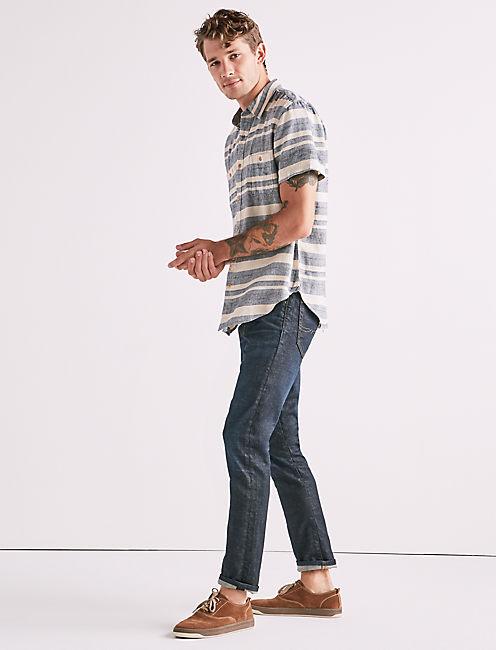 Striped Mason Workwear Shirt,