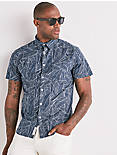 Saturday Stretch Tropic Palm Shirt,