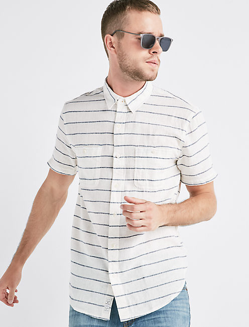 Classic Stripe Mason Workwear Shirt,