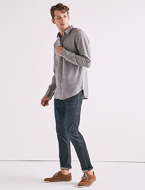 Textured One Pocket Shirt,