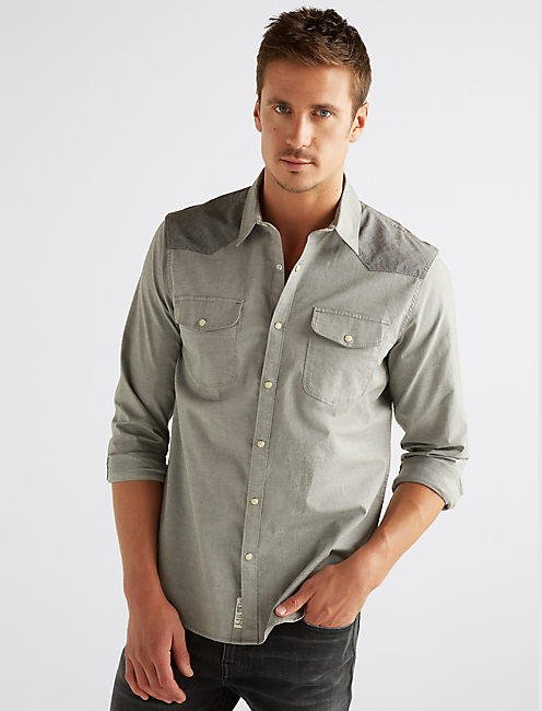 OXFORD WESTERN SHIRT,