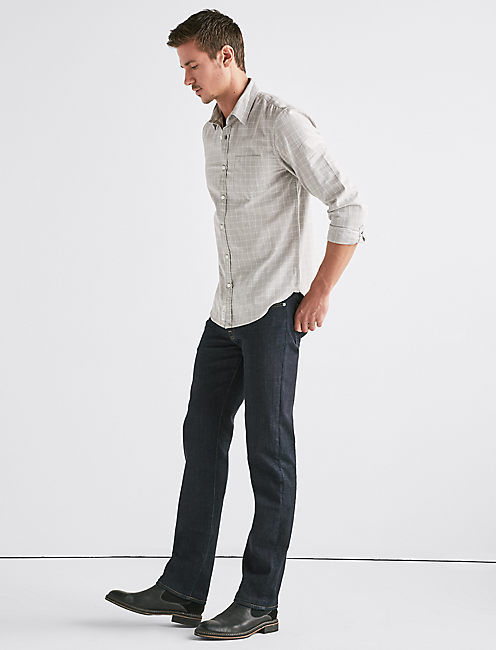 Lucky Stretch Oxford 1 Pocket Shirt