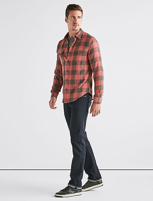 Lucky Buffalo Check Workwear Shirt