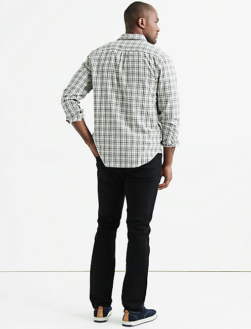 BALLONA SHIRT, NATURAL/BLACK