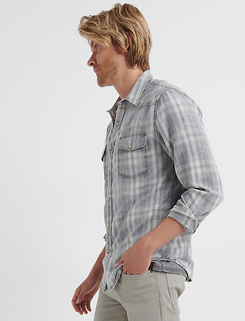 Saturday Stretch Lightweight Flannel Western Shirt