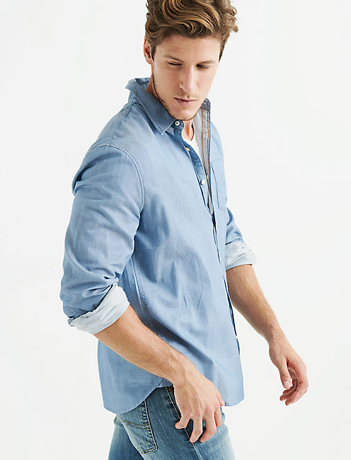 Lucky Perfect Chambray Ballona Shirt