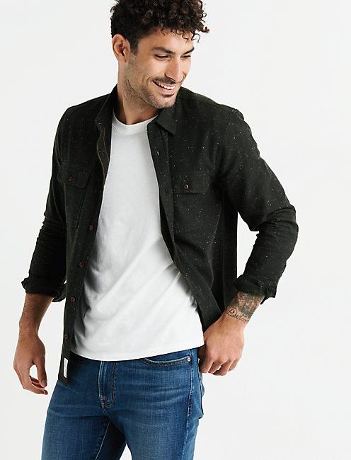 Long Sleeve Two Pocket Workwear Shirt,