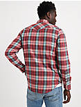 DOUBLE WEAVE WESTERN SHIRT,