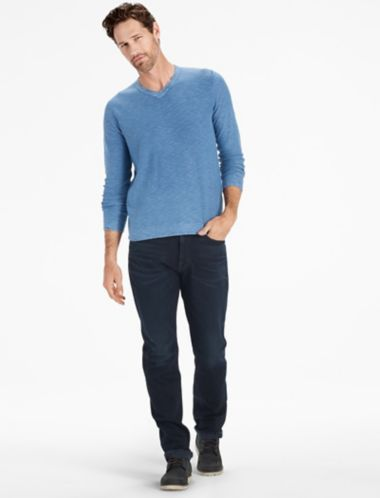 Lucky Welterweight V Neck Sweater