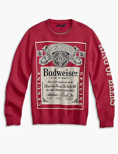 BUDWEISER SWEATER,
