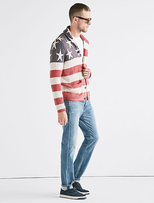 Lucky Americana Flag Sweater
