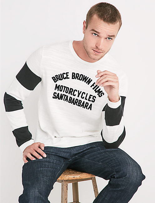BRUCE BROWN MOTO SWEATER,