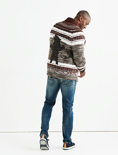 HERITAGE BEAR COWHICAN SWEATER,