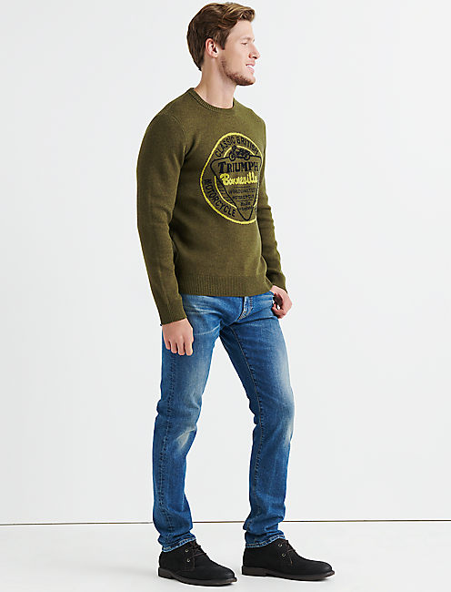 Lucky Triumph Bonneville Sweater