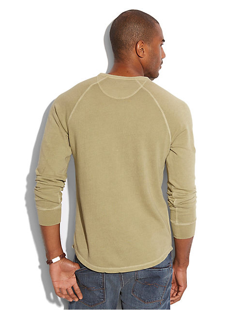 HONEYCOMB HENLEY, SILVER SAGE
