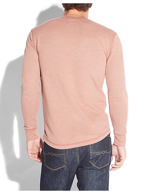 TRIBLEND HENLEY, ETRUSCAN RED