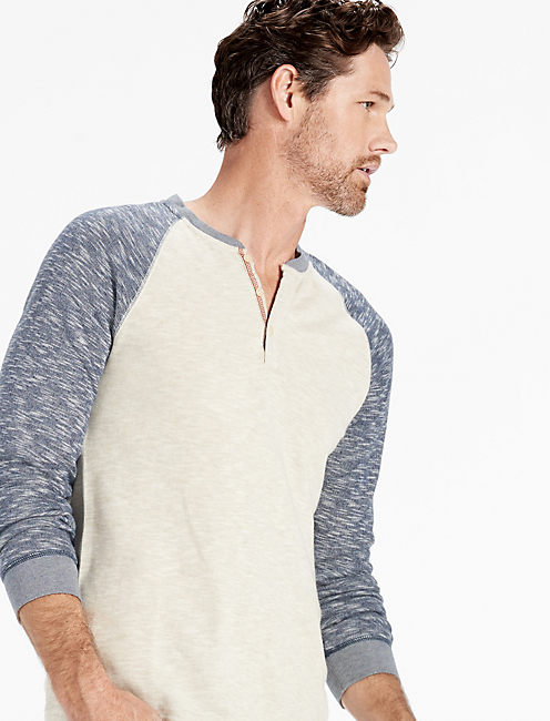 GREY LABEL HENLEY,