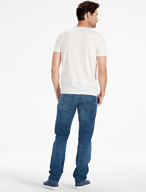 LIVED IN CREW TEE, MARSHMALLOW