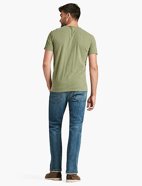 LIVED IN CREW TEE, CAPULET OLIVE