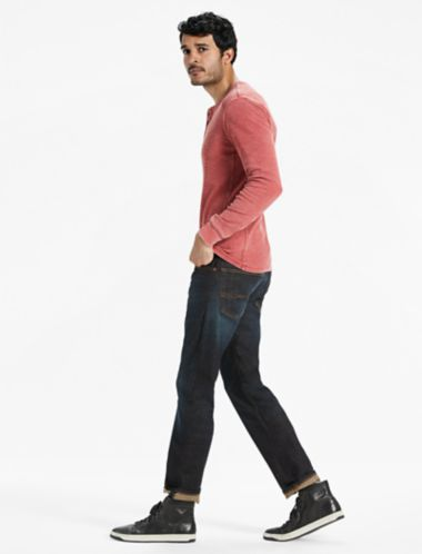 Lucky Venice Burnout Thermal Henley