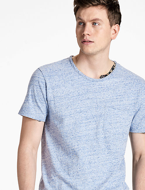 1 Pocket Crew Tee by Lucky Brand