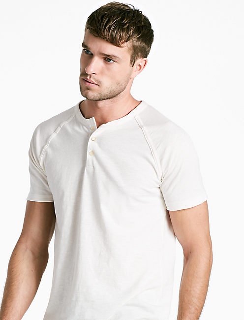 PIGMENT DYED HENLEY,