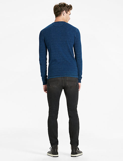 INDIGO THERMAL HENLEY,