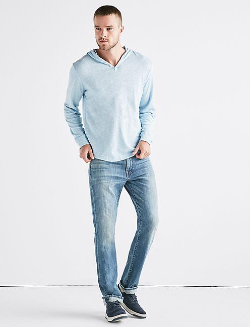 LINEN HOODLEY, SPRING BLUE #4982
