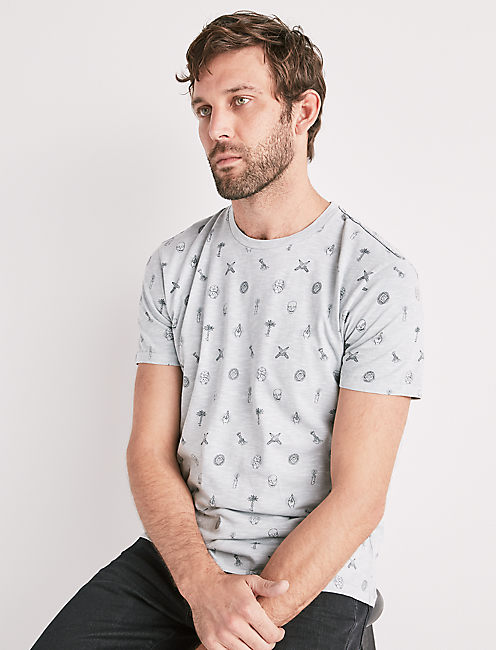 VICE ALL OVER PRINTED TEE,