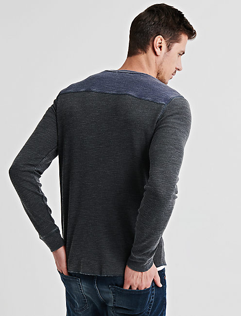 VENICE BURNOUT THERMAL SNAP NOTCH,