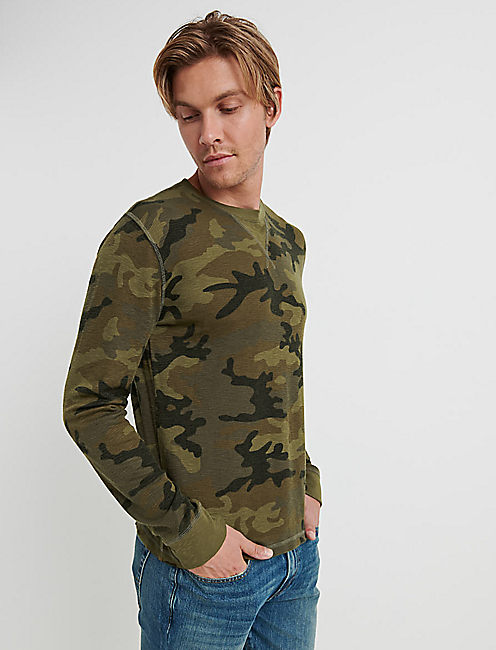 VENICE BURNOUT CAMO THERMAL,